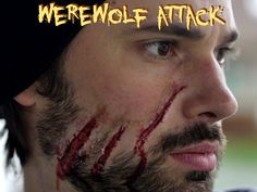Werewolf Attack - Halloween Makeup Tutorial