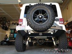 Poison Spyder RockBrawler II Rear Bumper with Tire Carrier - Jeep Wrangler Forum