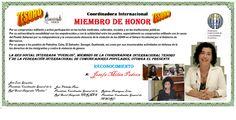 Pueblos  Josefa Milán Padrón  Miembro de Honor