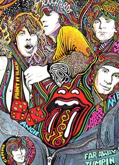 The Rolling Stones Art Print by Posterography