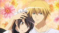 Beautiful anime screenshot from Kaichou wa Maid-sama! uploaded by megebuu - Kaichou wa Maid-sama Maid Sama Manga, Anime Maid, Tsundere, High School Romance Anime, Anime Comedia, Best Romantic Comedy Anime, Usui Takumi, Misaki, Animes On