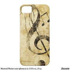 Musical Phone case iphone 5