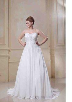 Plus Size White Bridesmaid Dresses - Wedding and Bridal Inspiration White Bridesmaid Dresses, Wedding Dresses, Faviana Dresses, Beautiful Wedding Gowns, Chiffon, Plus Size Wedding, One Shoulder Wedding Dress, Marie, Bridal