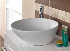 Montana Counter Top Basin - Now £59. www.victoriaplumb.com