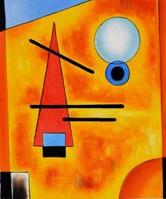 kandinsky paintings - Google Search                                                                                                                                                      Más