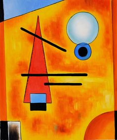 kandinsky paintings - Google Search                                                                                                                                                      Más