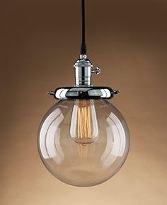 Buyee® Modern Industrial Metal Glass Loft Pendant Lamp Retro Ceiling Light Vintage Lamp (Chrome head) Buyee http://www.amazon.co.uk/dp/B012MZXBRE/ref=cm_sw_r_pi_dp_G2Ynwb1H9SDAB