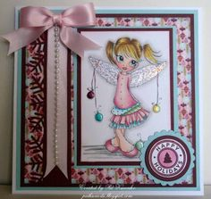 Christmas Saturated Canary Christmas Angel by pat33 - Cards and Paper Crafts at Splitcoaststampers