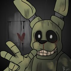 The new and only cutie named SpringTrap Im so excited fir fnaf 3