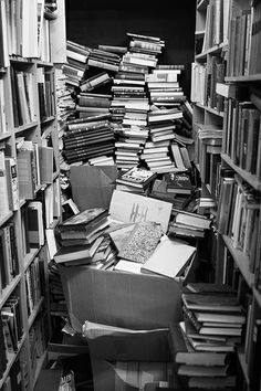 Bókin, Reykjavik, Iceland. Open since 1964, this delightfully chaotic used bookstore has piles and piles of books on every subject and in dozens of languages.