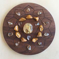 -3rd Solar Chakra-Crystal Grid
