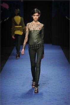 Sfilate Kristina Ti Collezioni Autunno Inverno 2013-14 - Sfilate Milano - Moda Donna - Style.it