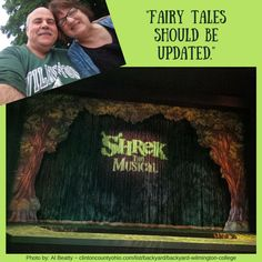 Not so #WaybackWednesday - @AlBeattyEA tweeted us these photos from their experience watching Shrek The Musical last weekend at Wilmington College Community Summer Theatre. They LOVED it! No wonder - It was a sold out show!! http://clintoncountyohio.com/list/backyard/backyard-wilmington-college #visitclintoncounty #ohio #summertheater #musicals #WeAreDubC #Shrek #communityTheater #ShrekTheMusical