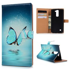 For LG K7 Cases Cute PU Leather Flip Stand Wallet Case Cover Color Painted Dog Cat Butterfly Skin Shell For LG K7 Card Slot Lg Cases, Slot, Pu Leather, Paint Colors, Dog Cat, Shell, Butterfly, Wallet, Cats