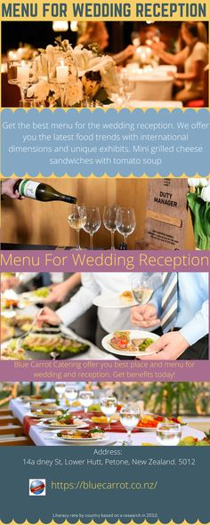 Get the best menu for the wedding reception. We offer you the latest food trends with international dimensions and unique exhibits. Mini grilled cheese sandwiches with tomato soup. Baked Brie with blackberry compote, Butternut squash soup. Wedding Catering, Wedding Menu, Wedding Reception, Blue Carrot, Mini Grilled Cheeses, Baked Brie, Butternut Squash Soup, Food Trends, Tomato Soup