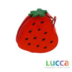 Strawberry purse     length: 7 cm | width: 7 cm