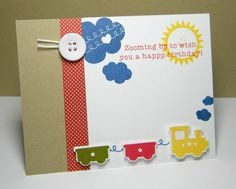 Little Hot Rod and Heart to Heart #6.  Card by melissa bickford.  PTI stamps