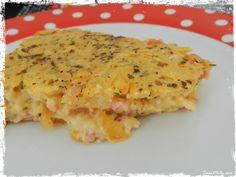 Torta Fácil de Queijo e Presunto.