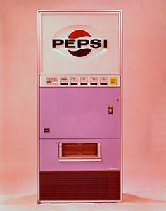 retro Pepsi vending machine