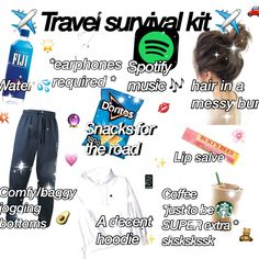 Travel Packing Checklist, Road Trip Packing, Road Trip Hacks, Travelling Tips, Road Trip Checklist, Traveling, Vacation Packing, Road Trip Outfit, Packing List For Disney