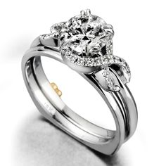 Mark Schneider Engagement Ring with Band