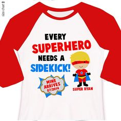Big brother superhero or big brother to be pregnancy by zoeysattic, $22.50