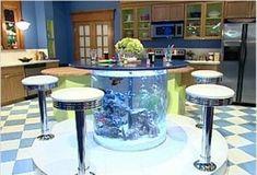 Stół- akwarium