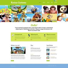Movie Premium Moto CMS HTML Theme