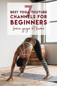 A quick look at the best channels for yoga on YouTube for beginners — after having done a whole bunch of videos. | best yoga youtube channels | yoga beginners learning | yoga beginners video | workouts at home | at home yoga workout | yoga workouts | how to start yoga | at home yoga for beginners | learn yoga at home #yoga #discoverdiscomfort Beginner Yoga Workout, Workout For Beginners, Yoga Workouts, At Home Workouts, Yoga Moves, Exercises, Workout Fun, Youtube Workout, Yoga Youtube