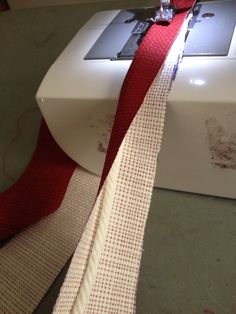 Making cording Red Cushions, Bathroom, Red Pillows, Washroom, Full Bath, Bath, Bathrooms