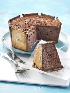 Charlotte au chocolat et biscuits Petits Beurres