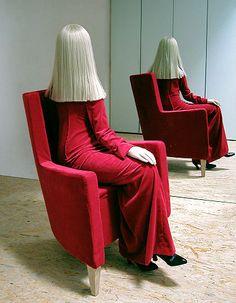 Simon schubert; Elle (sitting in an chair), 2007