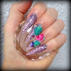 Long nails…………………