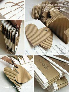 Heart Theme Wedding Invitation from http://www.violet-bg.com/