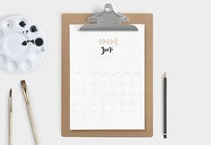 Kalender 2016 – Free Printable | Sodapop Design