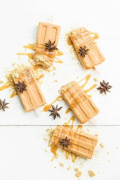 Salted Caramel Pumpkin Pie Pops
