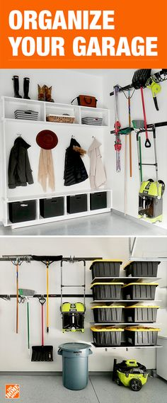 It's time to organize your garage once and for all. With our easy-to-assemble wall storage systems, durable cabinets and stackable totes, you can conveniently store away tools and toys. Click to shop smart storage solutions and start getting organized.