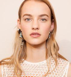 Makijaż na pokazie Dior Cruise 2016, fot.Vincent Lappartient for Christian Dior Parfums