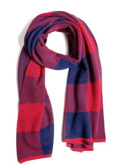 A Peace Treaty — GAIA, Buffalo plaid knit scarf in red and navy. Measures x Handwoven in Peru Ethical Clothing, Ethical Fashion, Alpaca Scarf, Baby Alpaca, Autumn Inspiration, Buffalo Plaid, Gaia, Fair Trade, Plaid Scarf