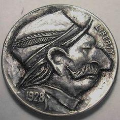 Eric Truitt Hobo Nickel, Buffalo, Coins, Rooms, Water Buffalo