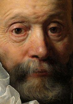 Rembrandt Harmensz. van Rijn - Portret van Johannes Wtenbogaert (1557-1644) - Detail