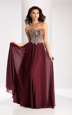 Beaded prom dress, flowy prom dresses, red bridesmaid dresses, open back prom dresses Strapless Prom Dresses, Open Back Prom Dresses, Gold Prom Dresses, Red Bridesmaid Dresses, Grad Dresses Long, Beaded Prom Dress, Formal Dresses, Dresses Dresses, Formal Prom