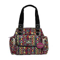Love Lily Bloom handbags!  Made from recycled water bottles! This would be a Cute diaper bag