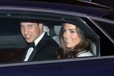 Prince William and Kate Middleton. Such a cute couple!