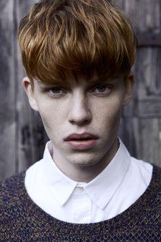 #menshair #redhair Christoffer R in 'Daywalker' by Mikkel