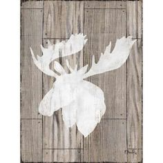 Paul Brent Stretched Canvas Art - Greystone Lodge II - Large 22 x 28 inch Wall Art Decor Size. Poster Prints, Art Prints, Lodge Decor, Your Space, Vivid Colors, Wall Art Decor, Moose Art, Canvas Art