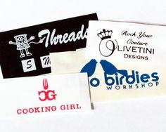 Nylon Taffeta Label with Your Logo / Artwork