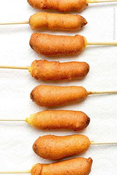 This homemade Corn Dog Recipe will have you making your own fair food at home and inviting fancy chickens over to party