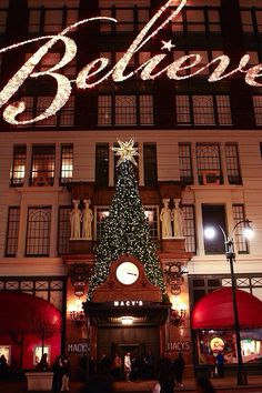 """Macy's has 2 displays - one on 34th and one on Broadway. The one on 34th displays scenes from """"Miracle on 34th Street"""" and the display on Broadway changes every year."""