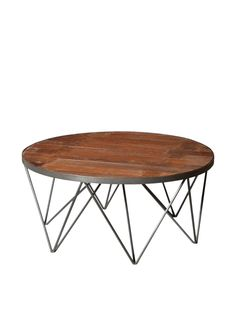 Moti Napa Round Coffee Table, Brown at MYHABIT